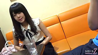 japanese student teen back job