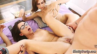 Wild party orgy and hardcore oil He took off his stepcompanions sisters shorts