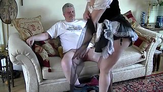 Naughty Nylon Maid