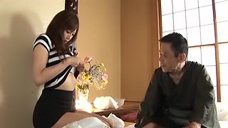 Horny Japanese chick Natsumi Horiguchi in Exotic Big Tits, Striptease JAV movie