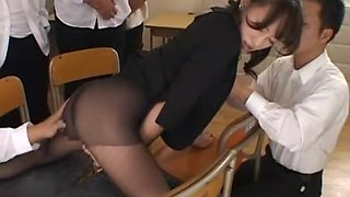 Amazing Japanese girl Arisa Kanno in Incredible Fetish, Facial JAV movie