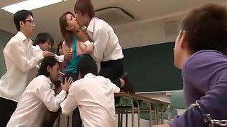female teacher ai haneda