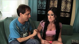 teen pornstar Jennifer White caught by step brother, and