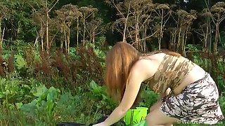 Beautiful Jemma does a naughty little striptease - Compilation - WeAreHairy