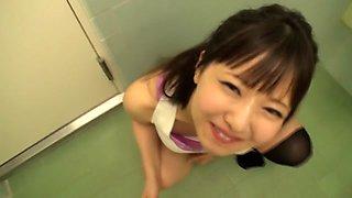 Fabulous Japanese slut in Crazy Swallow Сum, HD JAV clip