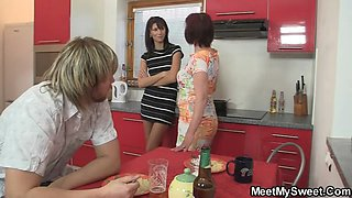 She is lured into 3some by his family