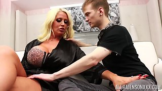 Alura jenson and boymilf big tits