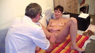 medecin student girl on examination at a pervert doctor - part 1