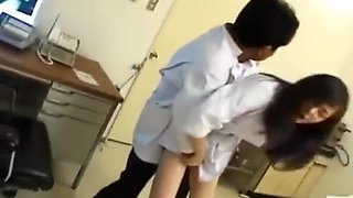 Japanese AV Model nurse is fucked oral and in cooter by doct