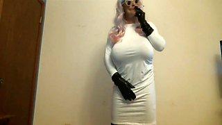 smoking white dress 2