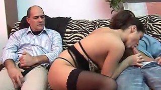 Dad, do you like my new lingerie? (italian)