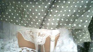 Lace Slip White Lace Panties