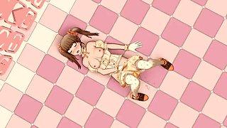 3d cute anime ai girl
