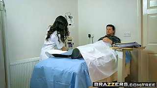 brazzers - hot and mean - going ham on the nurse scene starr