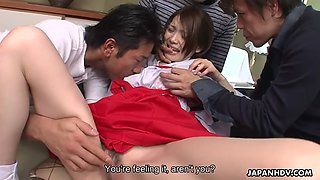 skinny ass geisha anna kirishima squirts hard with her rough clients