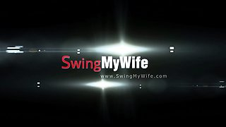 Making The Swinger Wife Happy Makes Horny Hubbby Happy