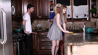 Pervert gangbang first time My duddy's step daughters Boypal