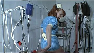 Wicked nurses in latex and their serf