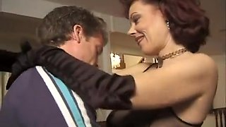Mature Brunette Gets Dirty On Youthful Person