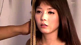 Adorable Japanese babe gets used and abused by a horny guy