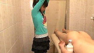 Crazy Japanese whore Kotomi Tsukino, Anri Kawai, Rui Hazuki in Horny Massage, Small Tits JAV scene