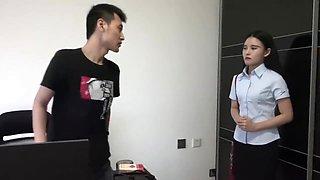 Chinese girl tickle bondage