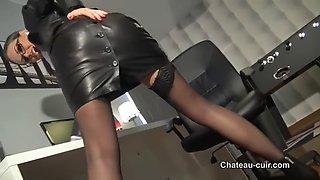 Leather boss joi