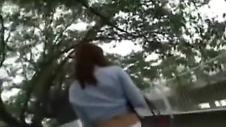 Innocent Japanese Babe Gets Savagely Fucked In The Street