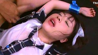 Best Japanese whore Tsubomi in Amazing Facial, Gangbang JAV scene