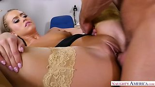married boss fucks his 21 year old intern jill cassidy in his office