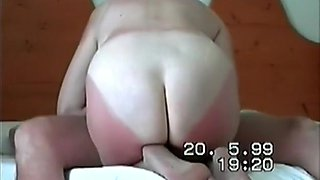 Amazing homemade brunette, mature, moan porn clip
