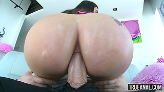 Lana Rhoades has her perfect ass fucked