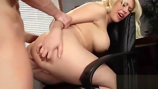 Hard Style Sex In Office With Big Round Tits Girl (kagney linn karter) mov-24