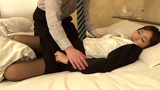 Passed Out Girl Gets Fucked By Her Colleague While In Deep Sleep