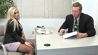(1080p) shyla styles fucks at the office