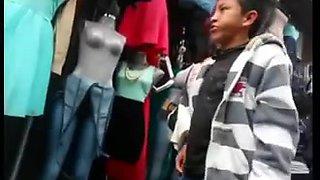 Spying Mature Latina - Huge Butt - Ass Voyeur - Candid Booty