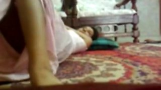 Desi betichod chacha fucks young relative doggy style pussy lick kissing