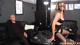 Marga in Amateur German Granny BDSM - FunMovies