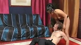 mixed wrestling femdom