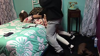 Brat Little gets punished and used. Daddy Dom teaches her a lesson