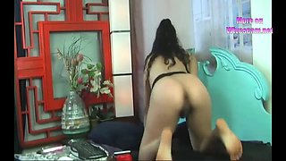 cam wife amazing multiple insertions