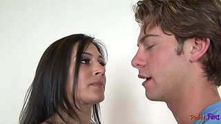 Cougar stepmom gets doggystyle fucked