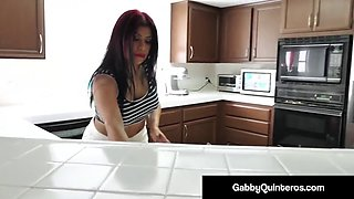 Mexican mommy gabby quinteros fucked by step son!