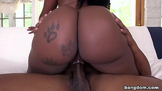 Big black ass gets fucked