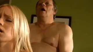 Old man Fucks busty blonde Teen