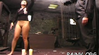 bith gets spanked and punished film clip 2