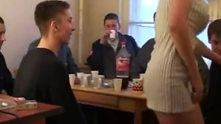Mature milf and a group of boys porn party Pt1