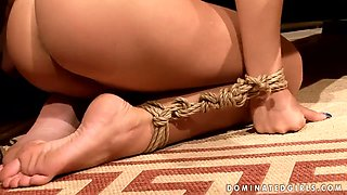 Babes Amabella and Nikky Thorne get disciplined
