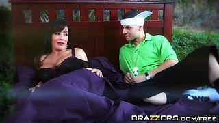 brazzers - big wet butts - wet dream scene starring lisa ann