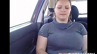 sexy live cam in car